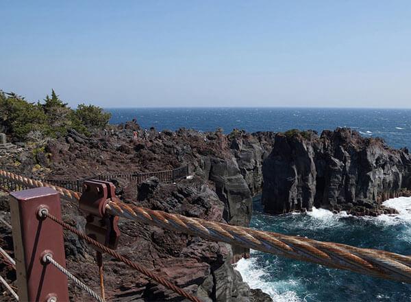 城ヶ崎海岸 橋立吊橋