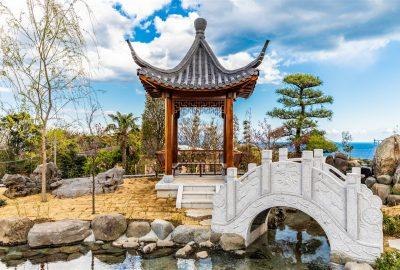 伊豆高原一茶一酒にある中国庭園の楽しみ方やフォトスポット