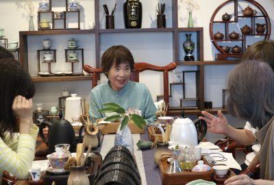 第11回無料中国茶教室(六安瓜片)の風景